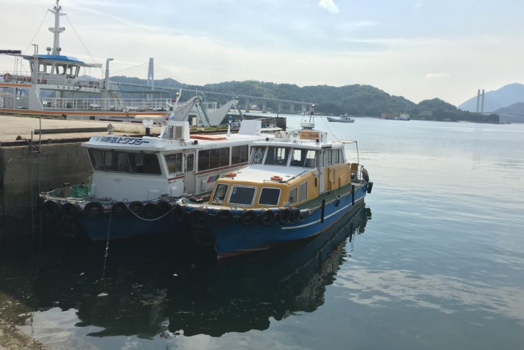 弓削丸・弓削海上タクシー